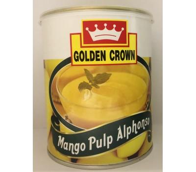"""МЯКОТЬ МАНГО Альфансо Mango Pulp Alphonso """"GOLDEN CROWN"""", 840г"""