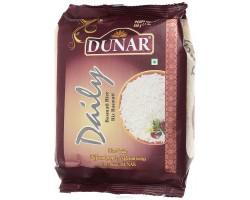 """Индийский Рис Басмати """"Дэйли""""Deili Dunar, длиннозерный шлифованный частично пропаренный 500г"""