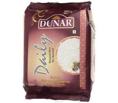 """Индийский Рис Басмати 500 г """"Дэйли""""Deili Dunar, длиннозерный шлифованный частично пропаренный"""