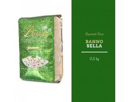 """Индийский рис Басмати """"Селло"""" , Sello длиннозерный шлифованный пропаренный """"Banno"""" 500г"""