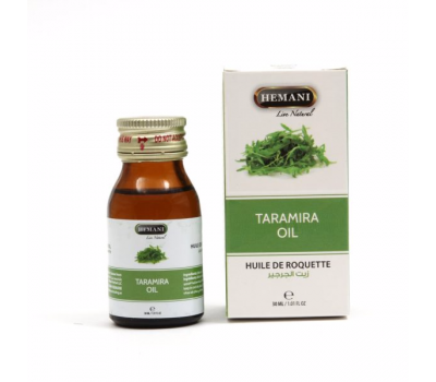 Масло Усьмы для роста ресниц и бровей (Тарамира) Taramira oil 30 мл, HEMANI
