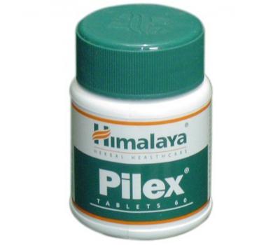 Пайлекс Pilex при лечении варикозного расширения вен и геморроя, Himalaya 60 таб