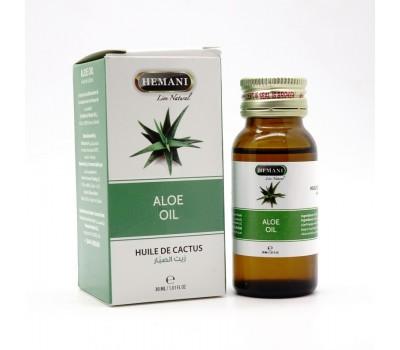 Масло Алоэ, Aloe oil 30 мл, HEMANI