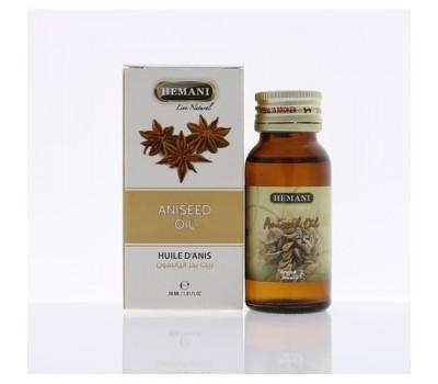 Масло Аниса, Aniseed oil 30 мл, HEMANI
