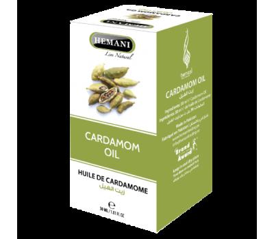 Масло Кардамона, Cardamom oil 30 мл, HEMANI