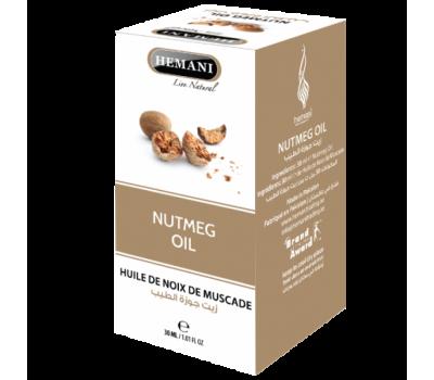 Масло Мускатного ореха, Nutmeg oil 30 мл, HEMANI