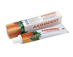 Зубная паста AASHADENT Кардамон & Имбирь, 100 г