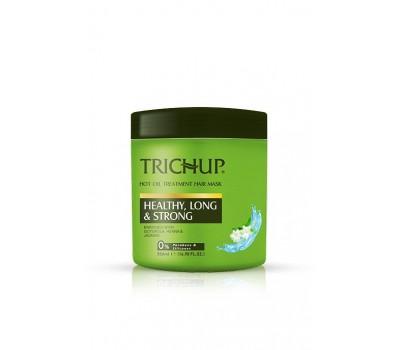 Маска для волос Trichup, Здоровые, Длинные, Сильные (Healthy, Long, Strong). VASU, 500мл