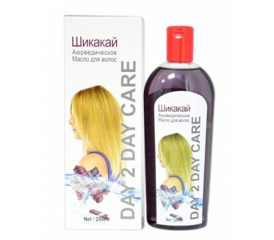 Масло для волос Шикакай, Day 2 Day Care 200 мл