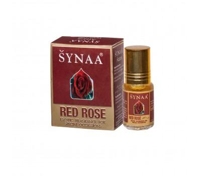 Масляные духи  Red rose (Красная роза) , Synaa 3 мл