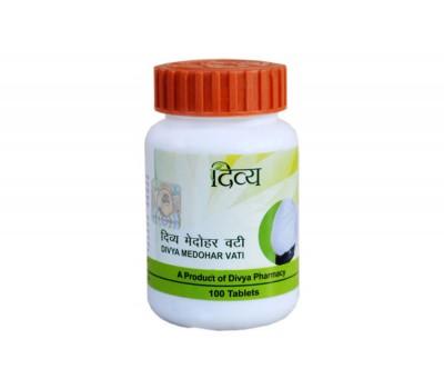 Медохар Вати для похудения (Medohar Vati), Divya 100 таб