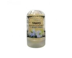 Натуральный минеральный дезодорант с черным тмином TAWAS, 60 г