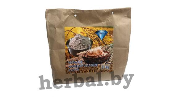 Мука пшеничная (цельномолотая на жерновах) 3кг
