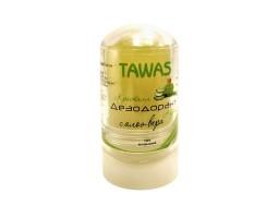 Натуральный минеральный дезодорант с Алоэ Вера TAWAS, 120 г