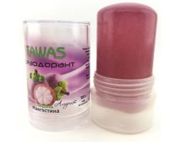 Натуральный минеральный дезодорант с экстрактом Мангостина TAWAS, 120 г