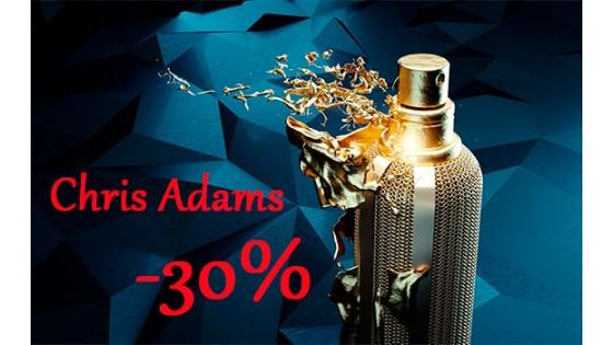 Скидка на парфюмерию Chris Adams