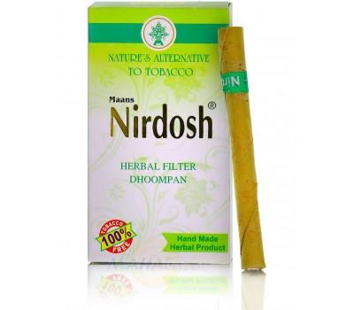 """""""Нирдош"""" травяной ингалятор с фильтром (без табака и никотина), 10 шт Nirdosh"""