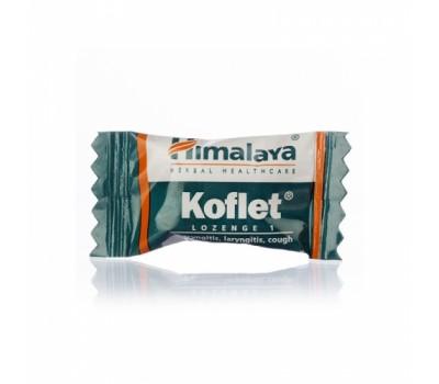 Леденцы-конфетки от кашля Кофлет Хималая, Koflet lozenges, Himalaya 1шт