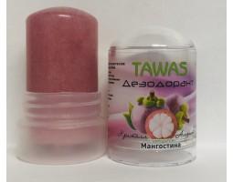 Натуральный минеральный дезодорант с экстрактом Мангостина TAWAS, 60 г