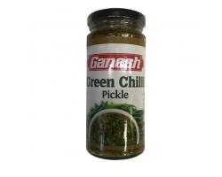 Пикуль из зелёного стручкового перца (Green Chilli Pickle), Ganesh 250г