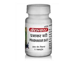 Прабхакар Вати Prabhakar Bati, Baidyanath 80 таб