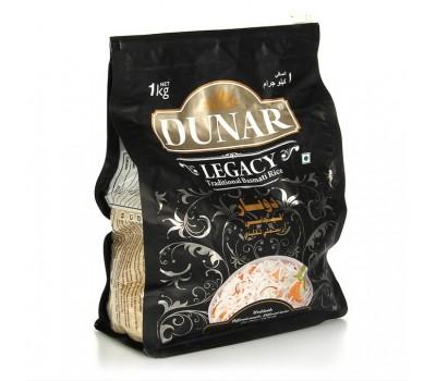 Рис Басмати длиннозерный шлифованный, Dunar 1 кг