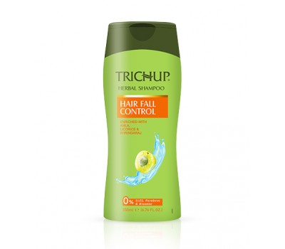 Шампунь для волос Тричуп против выпадения (Trichup Herbal Shampoo Hair Fall Control) 200 ml, Vasu