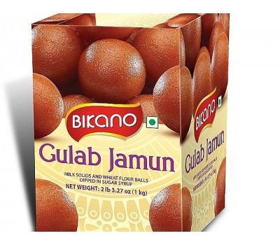 Сладкие молочные шарики Bikano Гулаб Джамун, Gulab Jamun в сахарном сиропе, 1 кг
