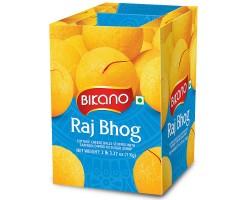 Сладкие творожные шарики Bikano Радж Бог, Raj Bhog в сахарном сиропе, 1 кг
