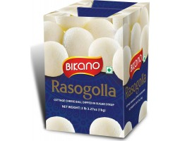 """Сладкие творожные шарики Bikano """"Расгулла"""", Rasogolla в сахарном сиропе, 1 кг"""