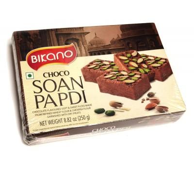 Soan Papdi нежная сладкая воздушная сладость Чоко с орехами, Bikano 250г