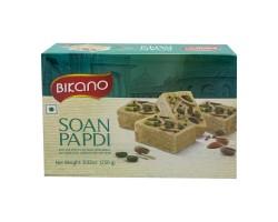 Soan Papdi Индийская воздушная сладость с миндалем и фисташками, Bikano 250г