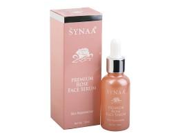 Сыворотка для лица омолаживающая с маслом Дамасской розы, Synaa 30 мл