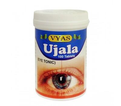 Тоник для глаз в таблетках Уджала (Ujala Eye Tonic), VYAS 100 таб
