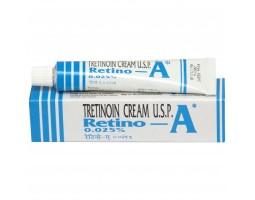 Третиноин Ретино-А Крем 0.025% Мощнейшее средство  избавляющее от угревой сыпи и шрамов от акне, 20 г Janssen