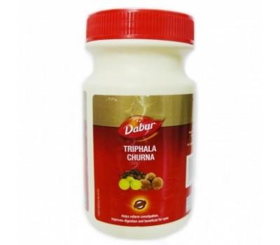Трифала чурна порошок (Tiphala Churna), Dabur 120 г