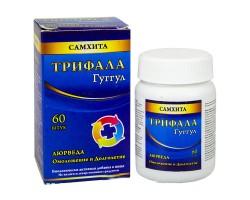 Трифала Гуггул Самхита Triphala Guggulu, SAMHITA 60 капсул